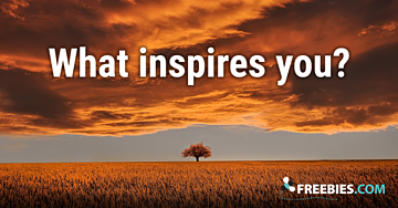 POLL: What do you do to get inspired?