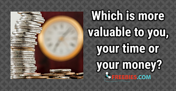 POLL: Is your time or your money more valuable to you?