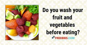 POLL: Do you wash your produce?