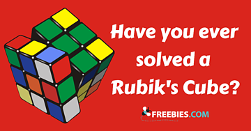 POLL: Have you ever solved a Rubik's Cube?