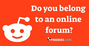POLL: Do you belong to an online forum?