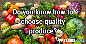 POLL: Do you know how to pick good produce?