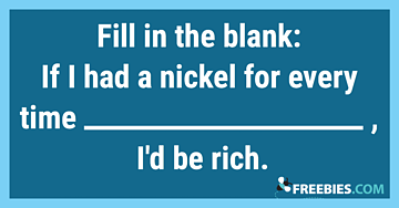 POLL: Fill in the blank!