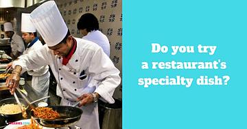 restaurant specialty
