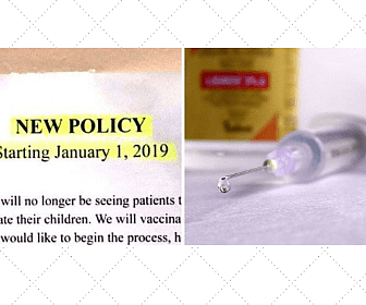 doctor bans anti-vaccination patients