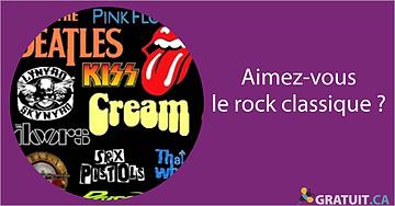 Aimez-vous le rock classique?