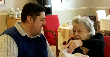 Grieving Widow Needed Constant Comforting Until She Got This Special Gift