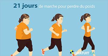 21 jours de marche pour perdre du poids et améliorer votre santé cognitive