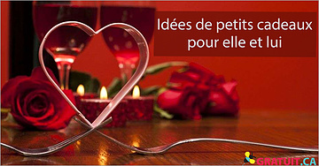 Idées de petits cadeaux pour la Saint-Valentin