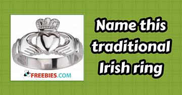 TRIVIA: Name this traditional Irish finger ring