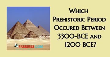 TRIVIA: Name the prehistoric period between 3300-BCE and 1200 BCE