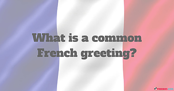 french greeting