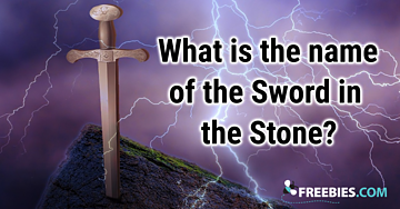 TRIVIA: Name the Sword in the Stone