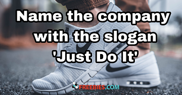 "TRIVIA: Who said ""Just Do It""?"