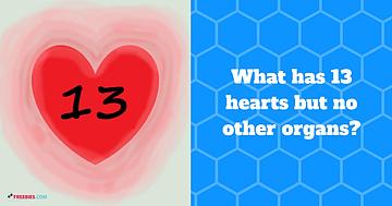 thirteen hearts