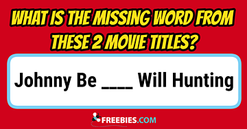 RIDDLE: 2 Titles - 1 Word