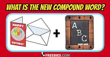 RIDDLE: What is the new compound word?