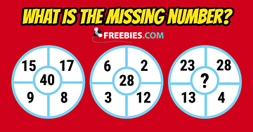 RIDDLE: Can you solve for the missing number?