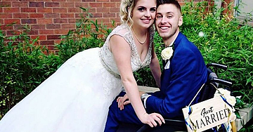 Groom Waits Until Wedding Day To Tell Guests He Was Misdiagnosed As Terminally Ill