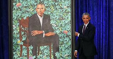 People Are Finding Obama's Portrait To Be Inappropriate, Can You Spot What Some People Are Seeing?
