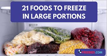 foods to freeze
