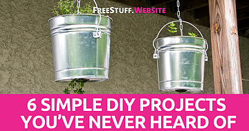 6 Simple DIY Projects You've Never Heard Of