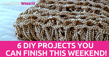 6 DIY Projects You Can Finish This Weekend!
