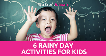 6 Rainy Day Activities for Kids