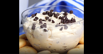 Bailey's Chocolate Chip Dip
