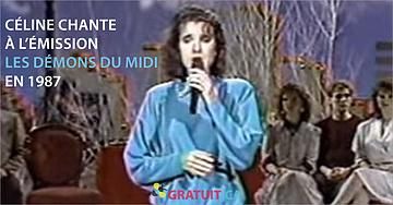 1987 – Céline chante Ave Maria
