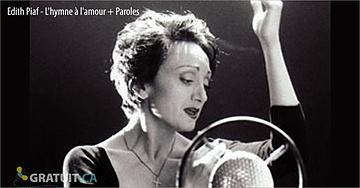 Édith Piaf chante L'hymne à l'amour