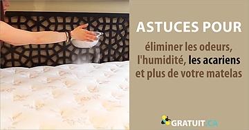 Astuces pour eliminer les odeurs lhumidite les acariens et plus de votre matelas