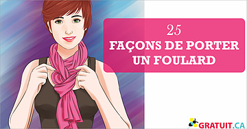 25 façons de porter un foulard été comme hiver