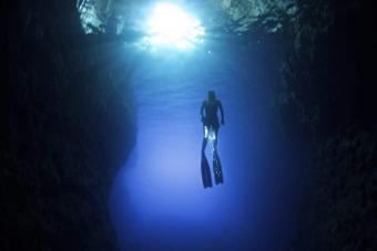 Freediving The Caves Of Kefalonia - Freediving in United Arab Emirates. Courses, Certificates and Equipment