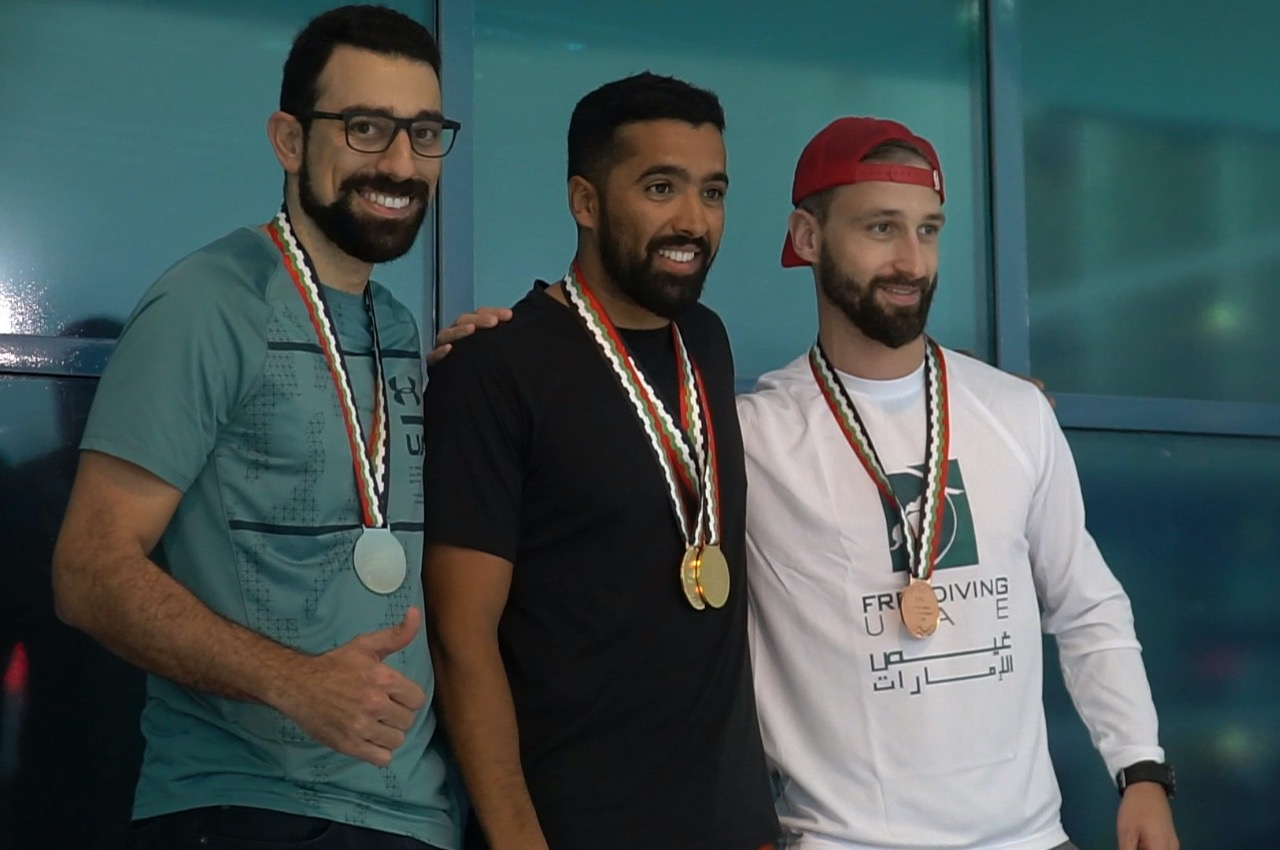 AIDA UAE Freediving Pool Competition 2019 - Freediving in United Arab Emirates. Courses, Certificates and Equipment