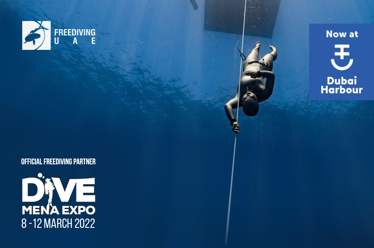 Dubai International Boat Show & Dive Mena Expo 2022 - Freediving in United Arab Emirates. Courses, Certificates and Equipment