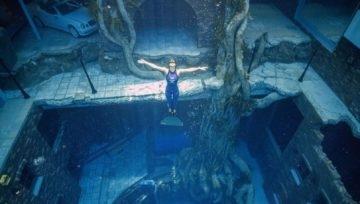 Dubai announced the deepest pool