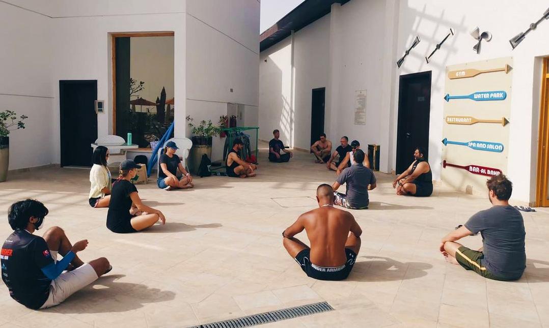 Freediving center in UAE