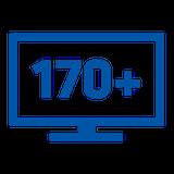170 channels on Freesat navy
