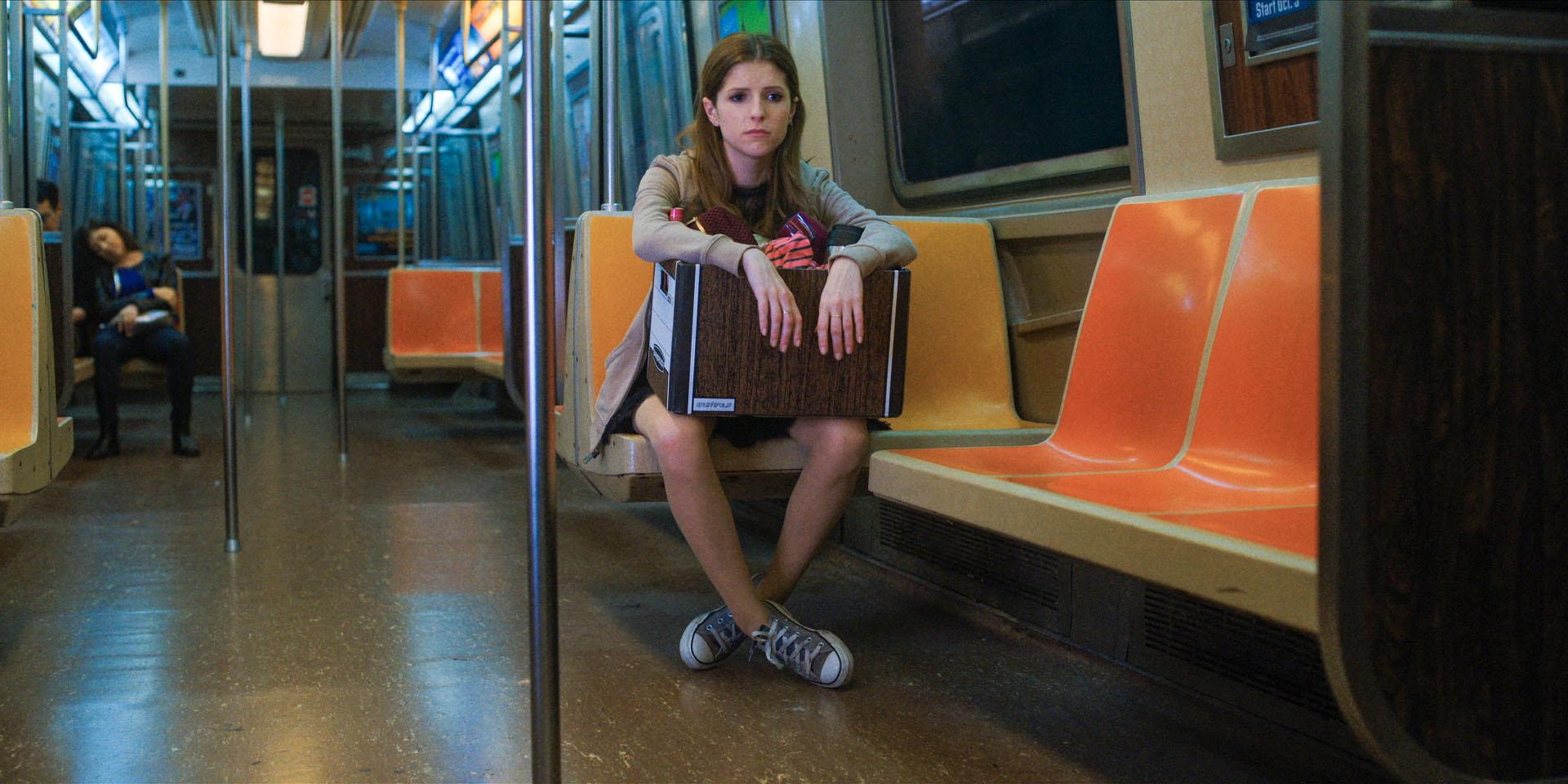 anna kendrick sat on the subway