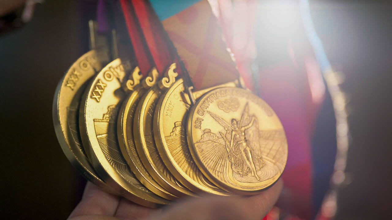 gold olympic medals