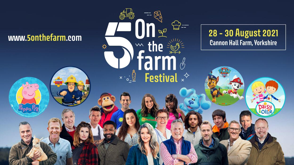 5 on the farm festival