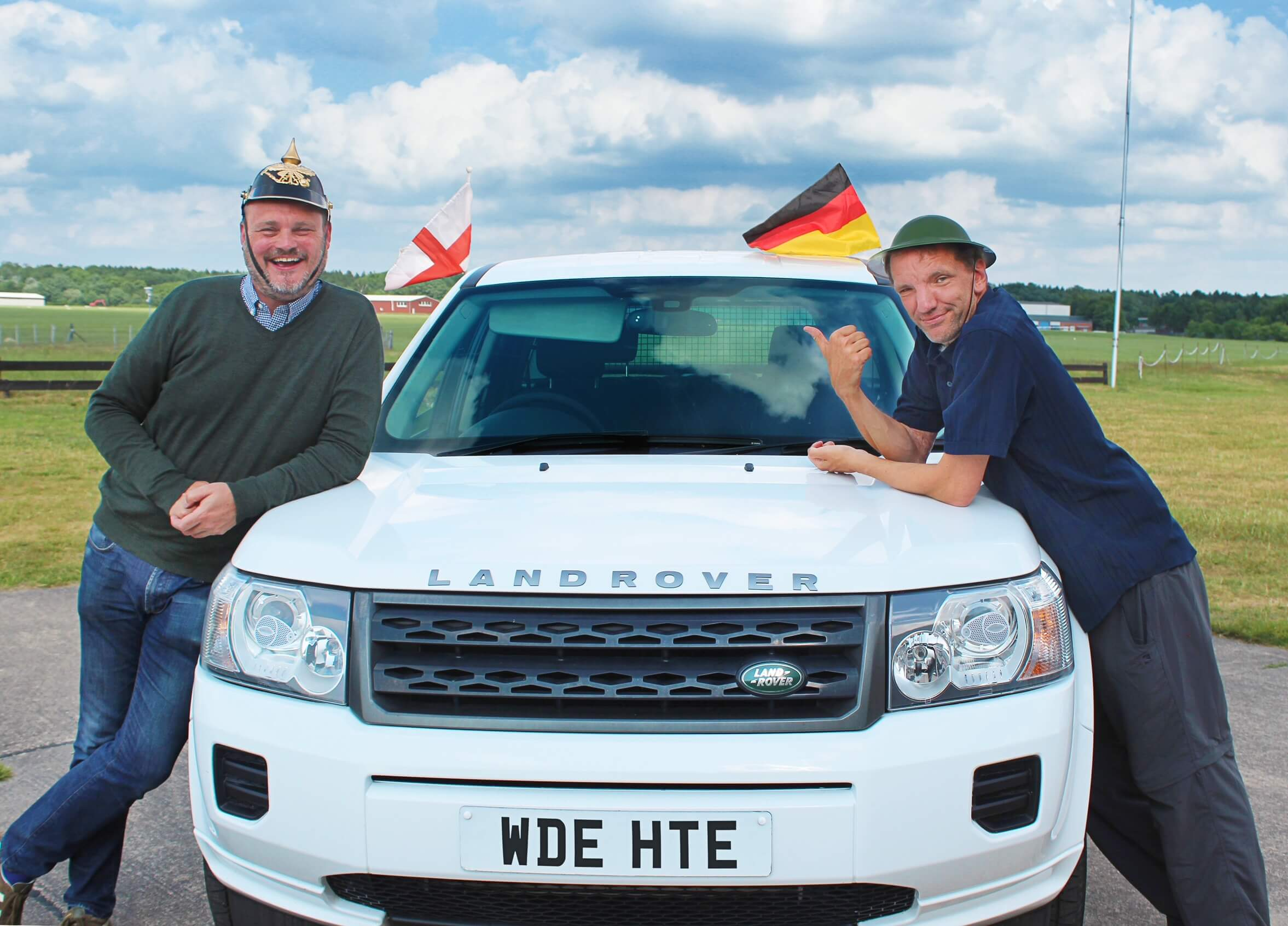 Al Murray and Henning Wehn in Germany