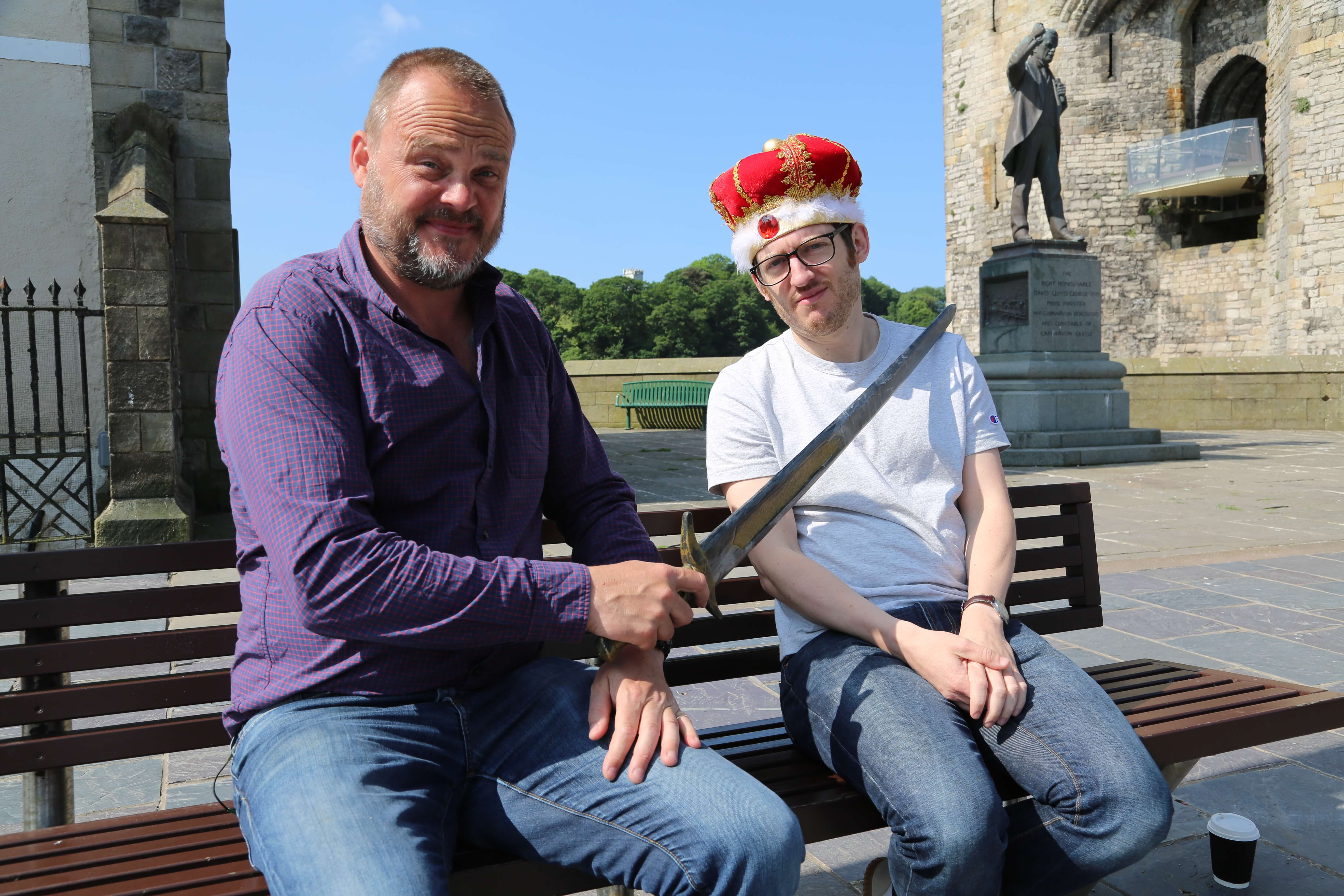 Al Murray and Elis James in Wales