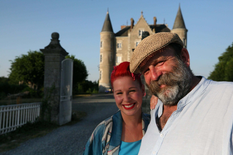 dick strawbridge angel adoree escape to the chateau diy
