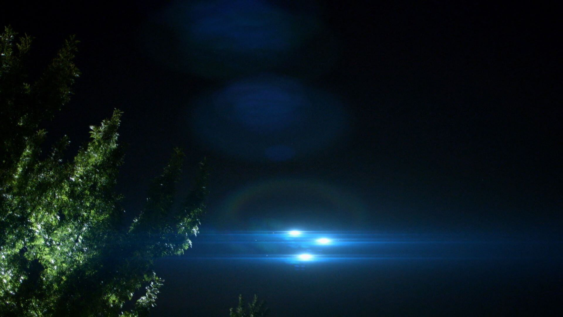 in search of ufos lights in the night sky