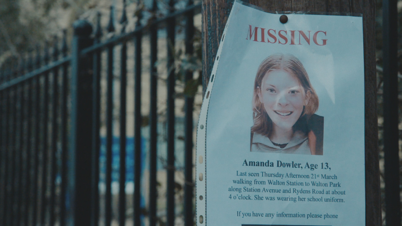 milly dowler missing persons poster