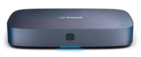 Freesat 4K TV box deep-etched