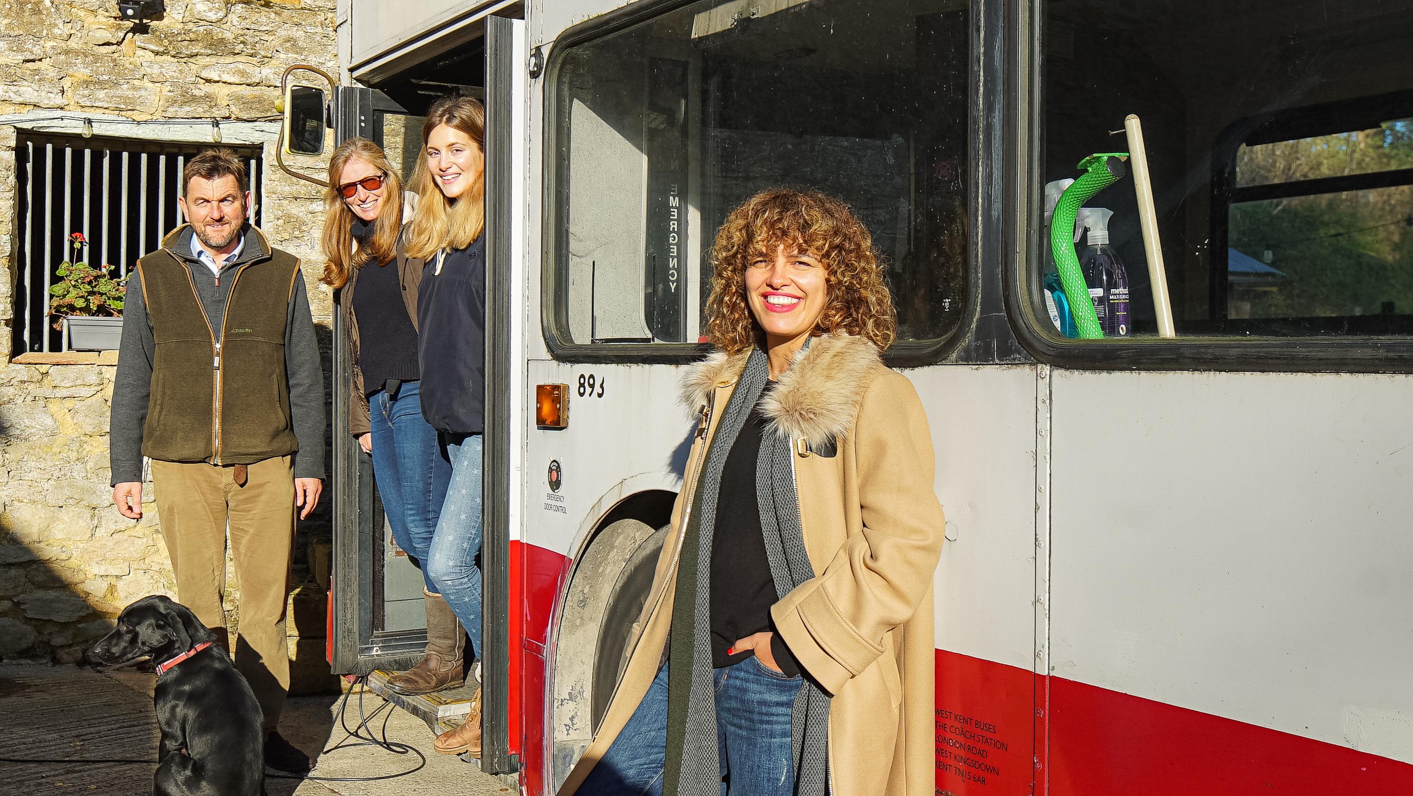 gabrielle omar double decker bus quick little builds