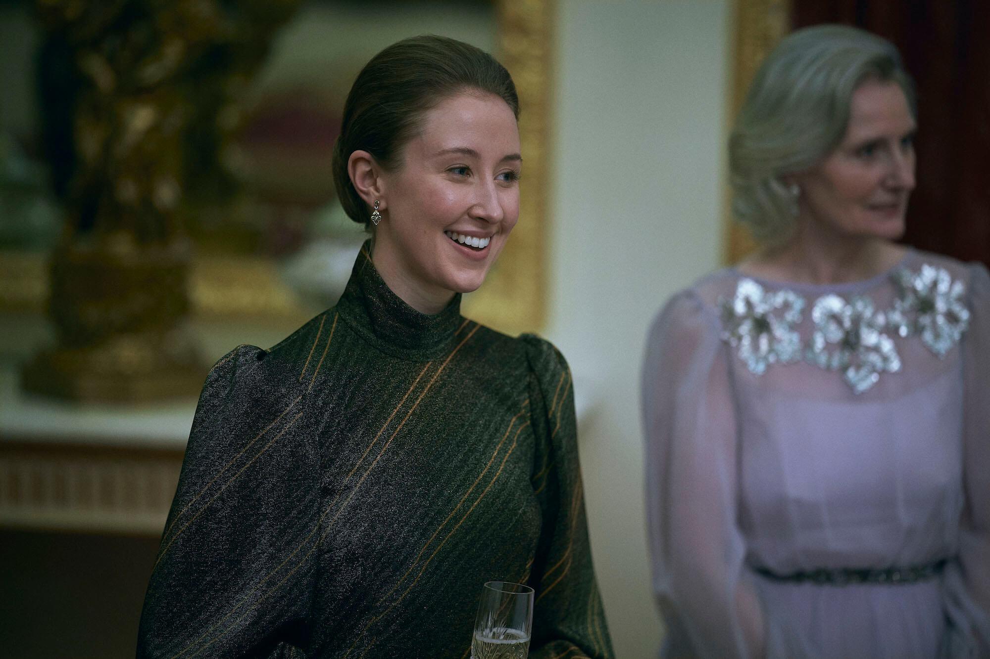 Erin Doherty as Princess Anne in The Crown season 4